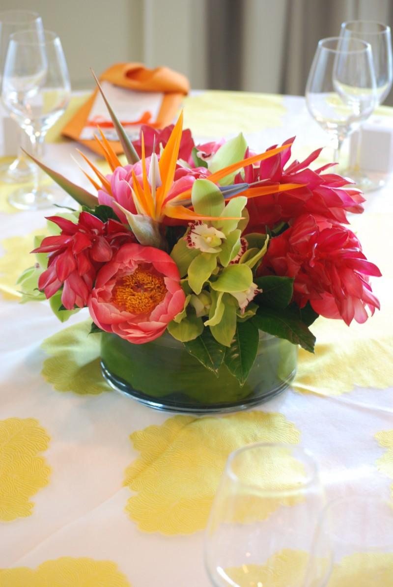Tropical Wedding Flowers | Cebolla Fine Flowers