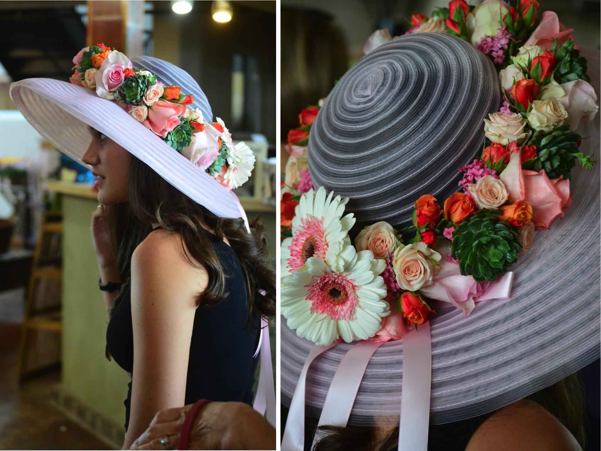 Hockaday Hats 2014 Cebolla Fine Flowers